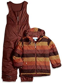 Columbia Boys' Toddler Girls' Frosty Slope Set, State Orange