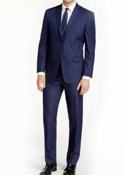 Braveman Men'S Big & Tall Classic Fit 2Pc Suits Indigo 54X48