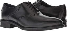 Cole Haan Men's Buckland Saddle Oxford Black/Black 9 D US