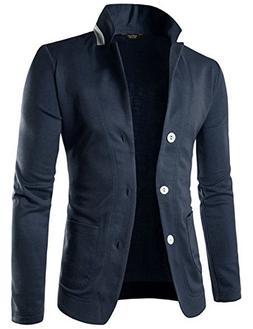 COOFANDY Mens Casual Slim Fit Blazer 3 Button Suit Sport Coa