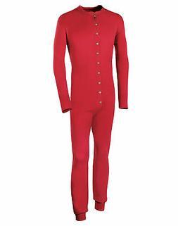 Champion Duofold Originals Merino Wool Blend Men Union Suit