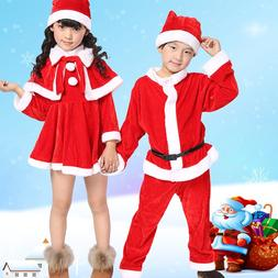 Christmas Santa Claus <font><b>Suit</b></font> Top Quality C