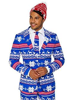 OppoSuits Christmas Suits for Men in Different Prints – Ug