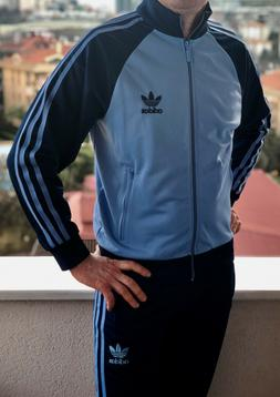 Classical Adidas mens tracking suit vintage old school track