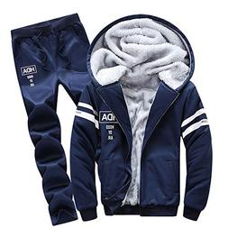 clearance athletic tracksuit set warm