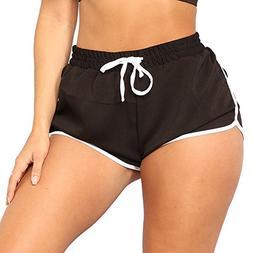 Clearance Sale!FarJing Women High Waist Yoga Pants Bandage E