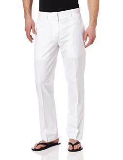 Cubavera Men's Big and Tall Linen-Cotton Herringbone-Texture