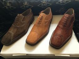 Crocodile & Ostrich Men's Shoes