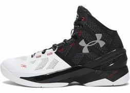 Under Armour Curry 2 Suit and Tie Black White Size 9. Warrio