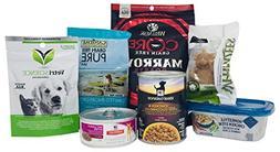 Dog Food and Treat Sample Box