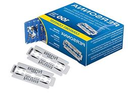 Personna Double Edge Razor Blades, 100 Count