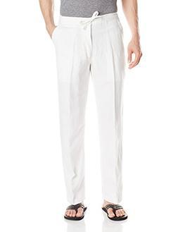 Drawstring Pant with Back Elastic Waistband, Bright White, X