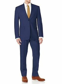 DTI GV Executive Mens Modern Fit Linen Suit 2 Button Summer