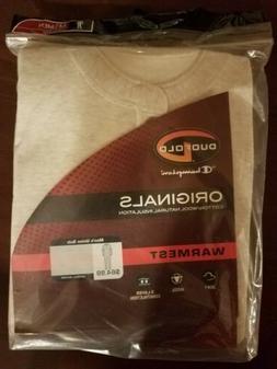 Champion Duofold Union Suit Oatmeal Heather Long John Therma