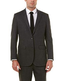 Brooks Brothers Mens Explorer Milano Fit Wool-Blend Suit, 46