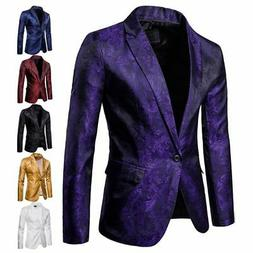 Formal Mens Blazer Suit Jacket Tux Waistcoat Trousers Weddin