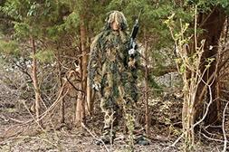 Red Rock Outdoor Gear 2-Piece Ghillie Suit Parka, Woodland,