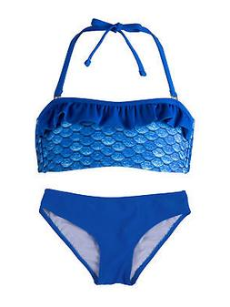 Girls Bandeau Bikini Set by Fin Fun, Swim Suit Matches Fin F
