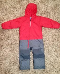 Columbia Girls' Little Dude Suit . Size 3T