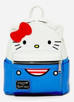 Loungefly Hello Kitty Suit Mini Backpack NWT