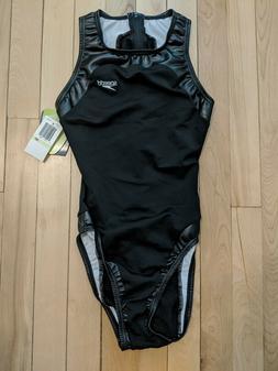 Speedo Hi-neck zip back waterpolo suit hydrasuit bodysuit ru