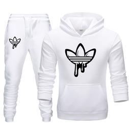Adidas Hoodie + Pants Training Gym Tracksuit Sportswear Jogg