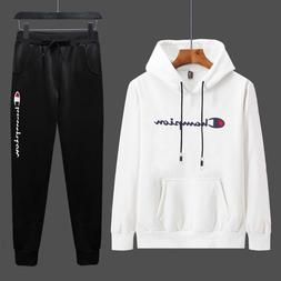 Hoodie Trousers Set Male Two-Piece Spring And Autumn 2019 Ne