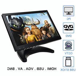 "TOGUARD 10.1"" Inch Portable Computer Monitor HD 1280x800 SUM"