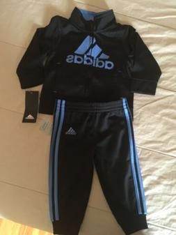 Adidas infant boys track suit 9 months new with tags