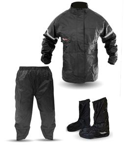 3 piece rain suit stay dry motorcycle