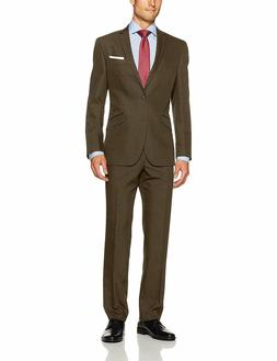 Kenneth Cole Unlisted Men's 2 Button Slim Fit Suit with Hemm