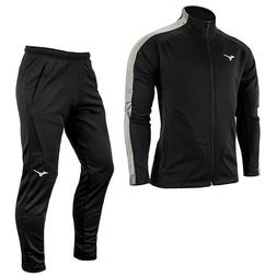 Mizuno Knit Full-Zip Tracksuits Sets Training Suit Athletic