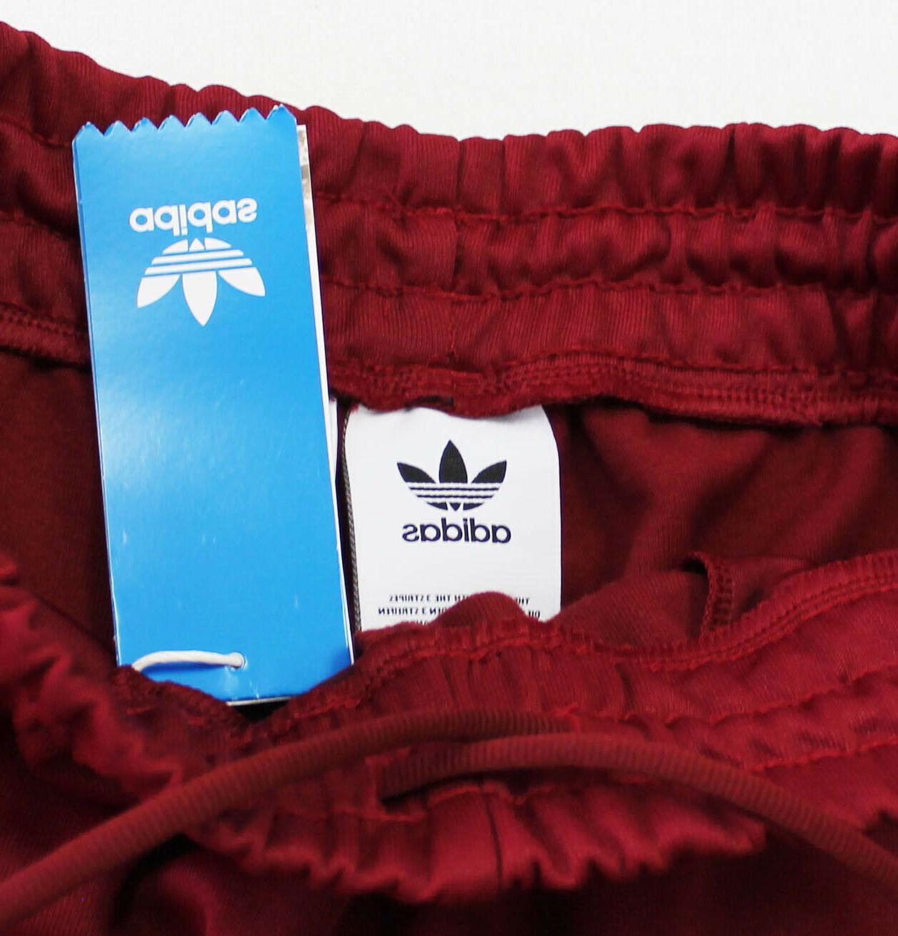 $170 NWT ADIDAS Men's Burgundy Suit Set Pants