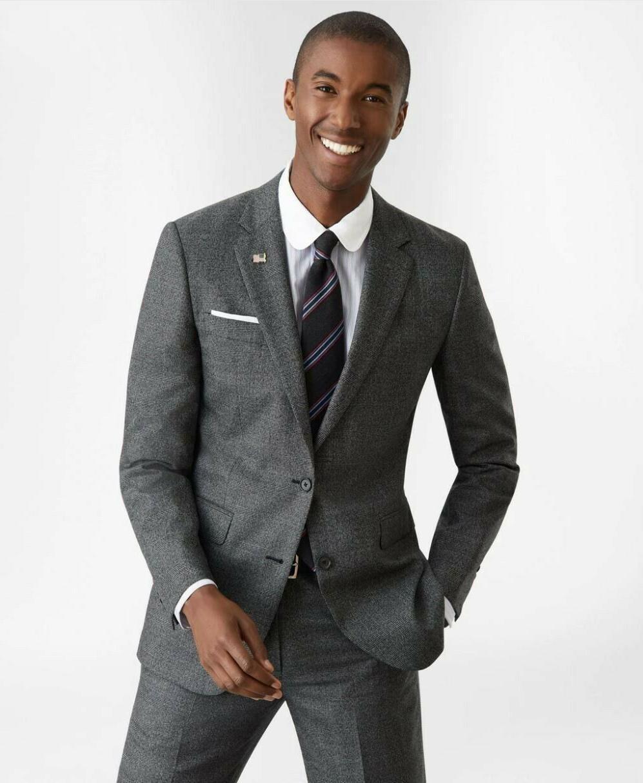 Brooks 2-button Fit Suit, Grey, w Tag