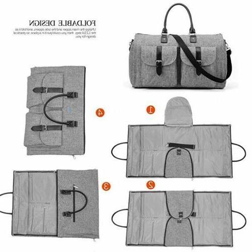 2 Garment Bag Suit Bag Duffel for Women