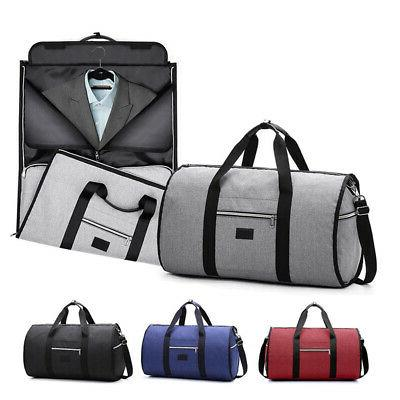 2 in1 business travel garment bag carry