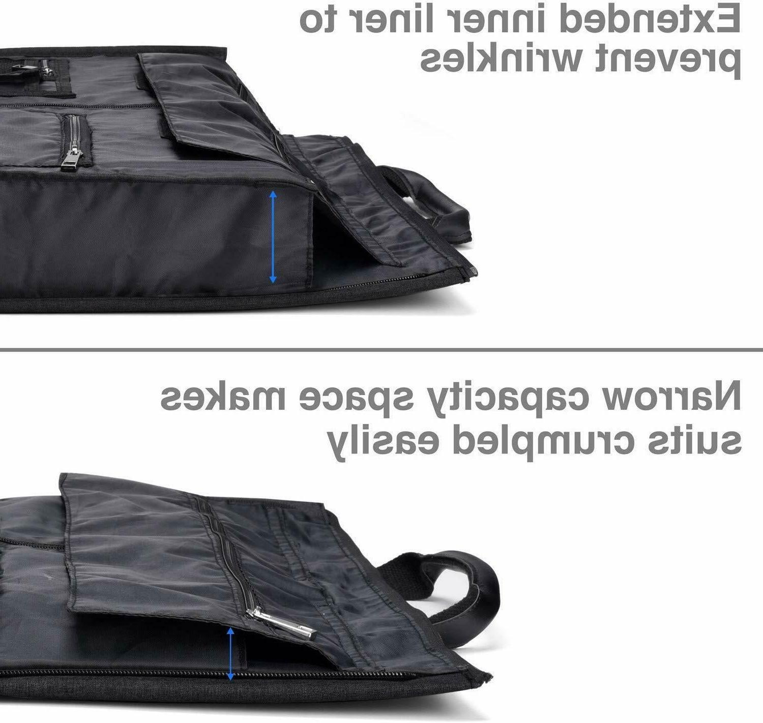 20 with Shoes Compartment - Black