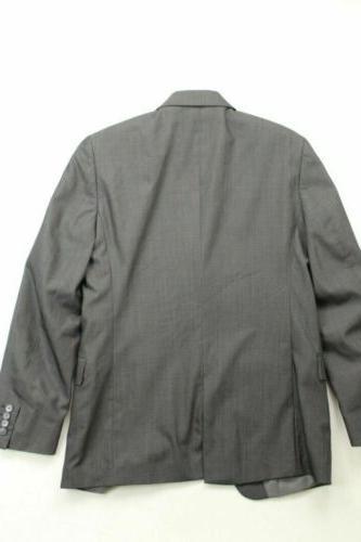 $400 Klein Slim Coat WOOL