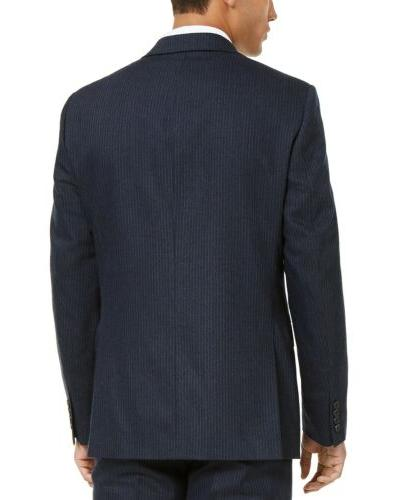 $425 Calvin X-Fit Slim-Fit Suit Navy Blue