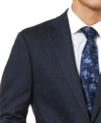 $425 X-Fit Suit Jacket Navy Blue