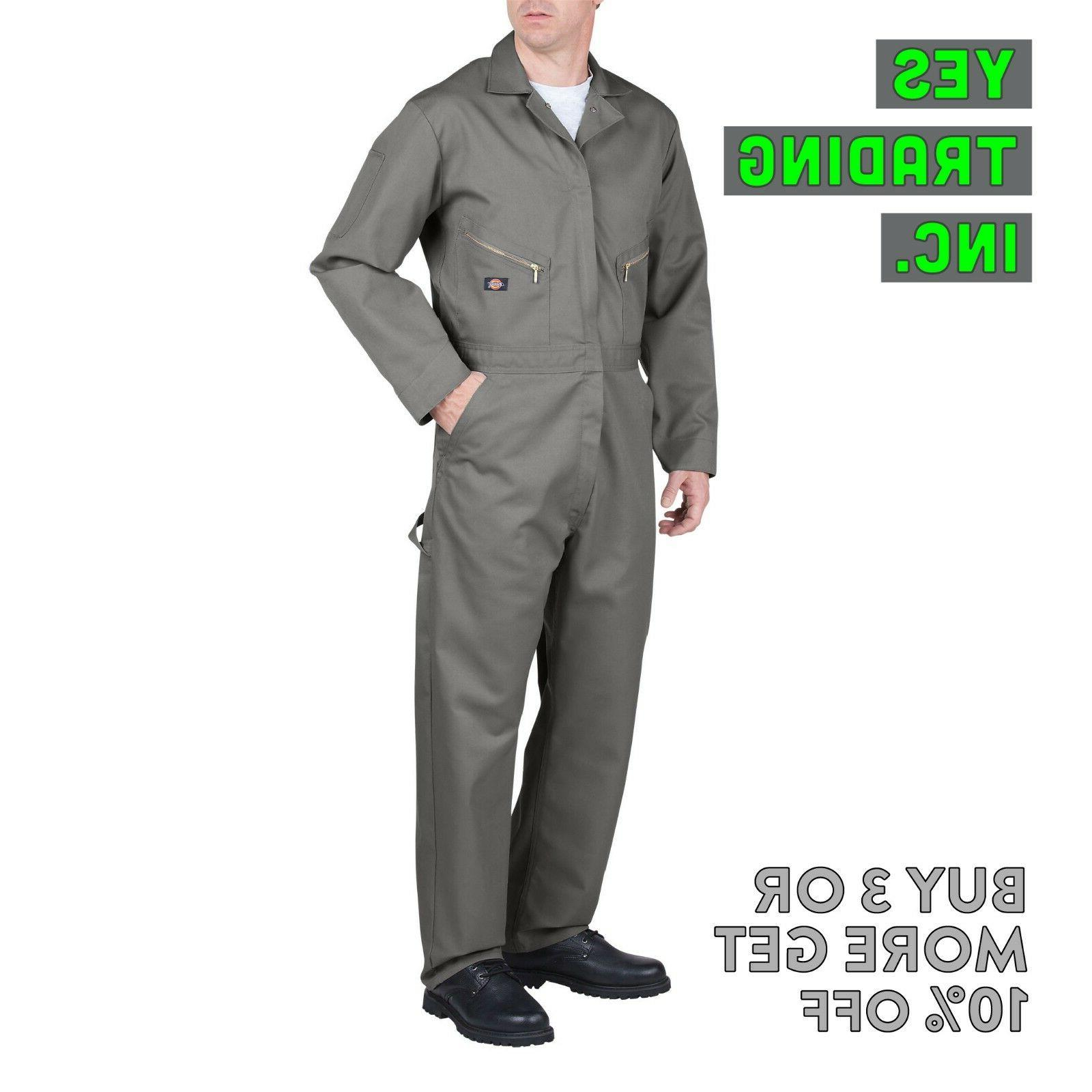 LONG COVERALL MECHANIC SUIT JUMP SUIT