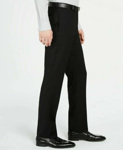 $600 Solid Fit Suit 36S / 29W Flat Pant Wool