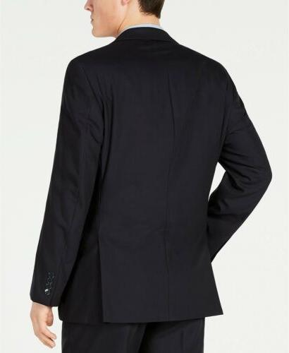 $600 Klein Stretch Midnight Suit 32 x