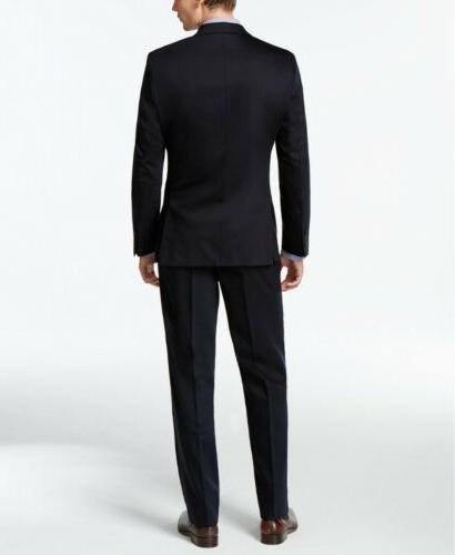 $600 Calvin Blue Fit 31W Flat Pant