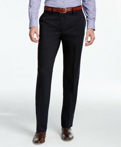 $600 Klein Navy Blue Solid X Fit Suit 38R 31W Pant