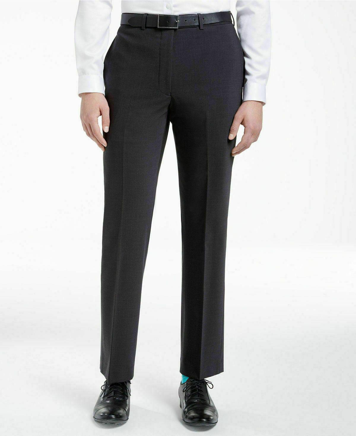 CALVIN $625 10028 Wool Slim MEN Suit