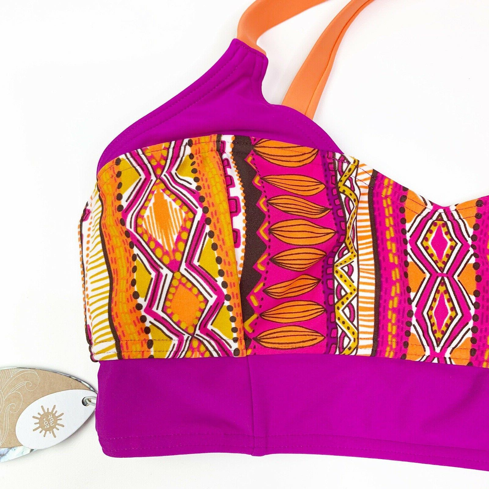 $65 NWT Prana Vibrant Bathing Top S