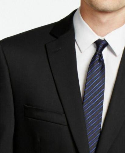 $650 Modern Stretch Suit / 32W Flat Wool