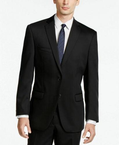 $650 Modern Slim Fit Suit 38R Flat Pant Wool