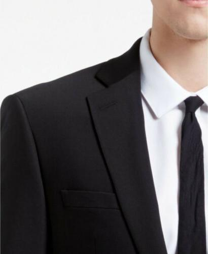 $650 Slim Fit 2 suit 44R x 30 Black Pant